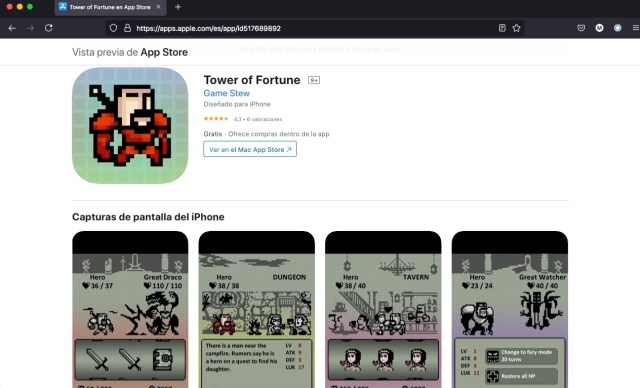 Tower of Fortune