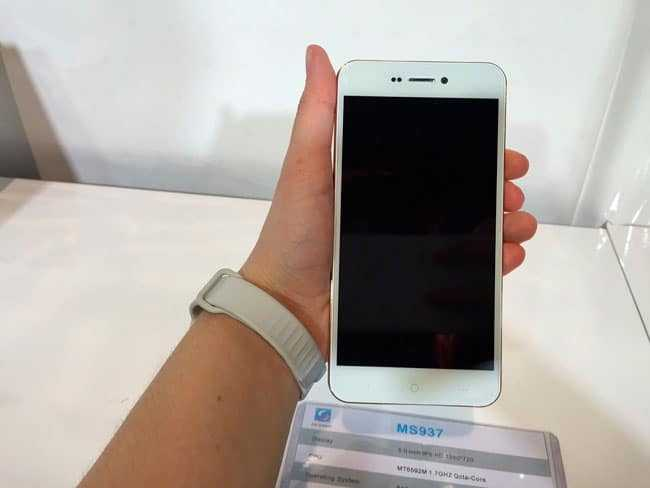 Gold-East MS937, un iPhone 6 Chino con Android por 115 $